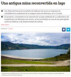 Una antigua mina reconvertida en lago / @GNF_es | #readyforbiodiversity #readyforsustainability