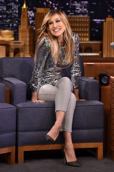 Sarah Jessica Parker visits 'The Tonight Show Starring Jimmy Fallon.'