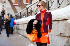 The Blonde Salad blogger Chiara Ferragni wearing Tommy Hilfiger Spring '14 Collection @Chiara Ferragni