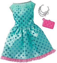 Barbie Complete Look Fashion 9 Doll Clothes Barbie, Barbie Dress, Barbie Outfits, Accessoires Barbie, Wardrobe Sets, Pink Gowns, Mattel Barbie, Barbie Doll, Ken Doll