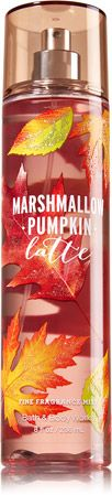 Marshmallow Pumpkin Latte Fine Fragrance Mist - Signature Collection - Bath…