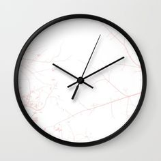 In my Veins wallclock by Julia Aufschnaiter Wall Clocks, Wallpaper S, Wall Murals, Wall Decor, Tapestry, Art Prints, White People, Wall Papers, Wallpaper Murals