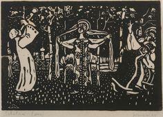 Kandinsky's Early Representational Woodcuts - Guggenheim Blogs