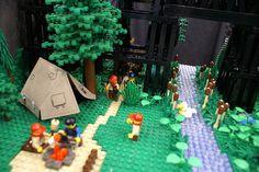 Legos Boy Scout camp site. texlug_1-30-10_34 | Flickr - Photo Sharing!