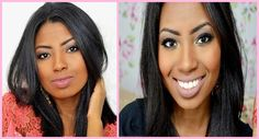 Por Dentro... em Rosa: Maquiagem para pele negra : Camila Nunes