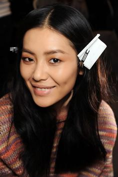 liu wen in pretty, natural makeup