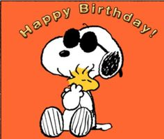 Snoopy Happy Birthday Wish