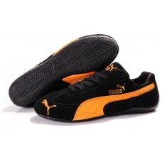 Puma Suede Women Black/Orange