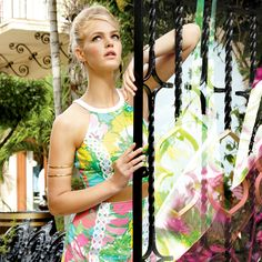 Lilly Pulitzer Catalog Cover- pre-order new styles before everyone else.