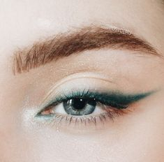 cool eyeliner looks * cool eyeliner ; cool eyeliner looks ; Eyeliner Make-up, Glitter Eyeliner, Purple Eyeliner, Eyeliner Ideas, Eyeliner Styles, Double Eyeliner, Color Eyeliner, Silver Eyeliner, How To Eyeliner
