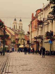 Kaunas, Lithuania (by 4Ever-2Gether)..........reminds of stories my Great-Grandma told ne