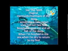 Real Mermaid Spells that Will Really Work + Mermaid Spell Book ...