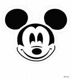 Mickey Mouse Pumpkin Stencil