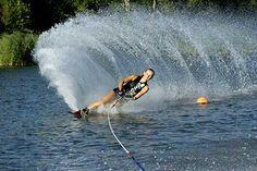 Ski nautique Sports Nautiques, Action Painting, Niagara Falls, Summer Time, Skiing, Gardens, Interiors, Decoration, Nature