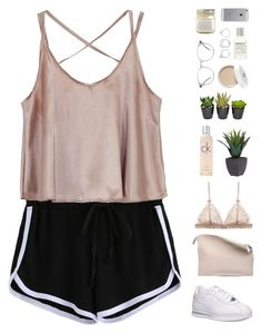 """""""Ck nude"""" by f-resh ❤ liked on Polyvore featuring Sabrina Zeng, NIKE, Calvin Klein, Ace, Le Labo, Moratorium, Brooklyn Candle Studio and Luvvitt"""