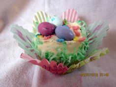 Lemon Coconut Cupcakes - I hope the Easter Bunny enjoyed them!