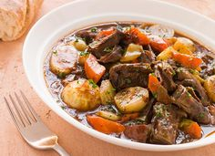 Delicious Crock-Pot Recipes for Fast Fall Dinners Crock Pot Recipes, Beef Soup Recipes, Crock Pot Cooking, Slow Cooker Recipes, Cooking Recipes, Cooking Tips, Diet Recipes, Healthy Breakfast Recipes, Healthy Cooking