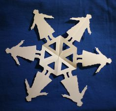 Sherlock Paper Snowflake by sabrinahc on DeviantArt Sherlock Fandom, Sherlock Holmes, Sherlock Crafts, Geek Crafts, Diy Crafts, Paper Snowflakes, Love Craft, Cool Things To Make, Book Art