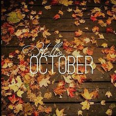 Instagrammed @clothesndreams: Hello October!  This month I'll be looking for work trying to stop eating added sugars and have lots of things to do. It's gonna be a busy month