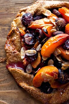 NYT Cooking: Apricots and cherries are two stone fruits that have great affinity for each other and for almonds. Even less than perfect apricots will do here, as they will sweeten and their flavor will deepen as they bake.