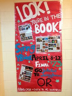 Outstanding yearbook sales ideas for Spring... Your Yearbook Tip of the Day for Thursday, April 18.  http://jostensyearbooksalberta.blogspot.ca