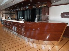 Nautical Boat Bar