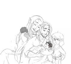 Kíli and Tauriels little brood :)
