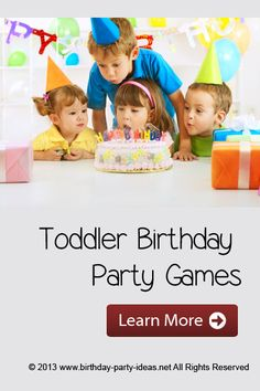 Toddler Birthday Party Games - Birthday Party Ideas