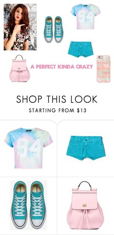 """""""A Perfect Kinda Crazy"""" by kaylia-ashley ❤ liked on Polyvore featuring New Look, Lucky Brand, Dolce&Gabbana and Casetify"""
