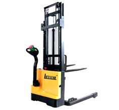 Stepless speed control, smooth/controllable speed. reach distance up to 500mm. http://www.lift-star.com/ac-eps-forkover-stacker/electric-fork-over-stacker.html