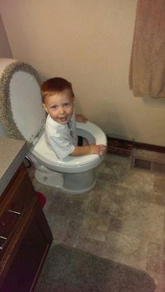 """""""Flush me down!"""""""