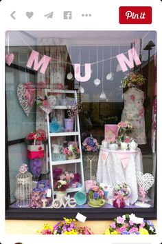 Retail store displays store window displays, charity shop display i Charity Shop Display Ideas, Display Shop, Shop Ideas, Spring Window Display, Store Window Displays, Retail Displays, Retail Windows, Store Windows, Plans Loft