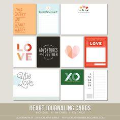 Heart Journaling Cards (Digital)