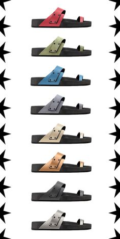 Mohop Toe Strap Comfort Sandal.  Super Customizable, Vegan, Made in Chicago!