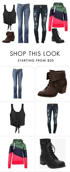 """""""Untitled #1065"""" by pandoraslittlebox ❤ liked on Polyvore featuring Hudson Jeans, Rocket Dog, Philipp Plein and Torrid"""