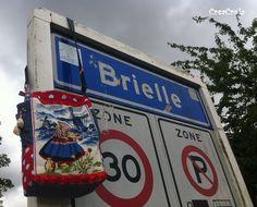 CreaCrola-tasjes, I was here: Brielle!