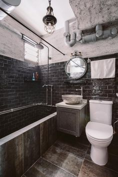 Thinking about installing a bathtub in your HDB flat? First, read this guide about bathtub designs, installation, regulations, and other must-knows! Man Cave Bathroom, Man Cave Room, Installing Bathtub, Built In Bathtub, Automotive Decor, Classic Interior, Tiny House Design, Dream Bathrooms, Luxurious Bedrooms
