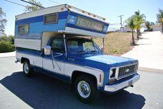 1974 Chevrolet C2500 Camper Special - El Cajon CA