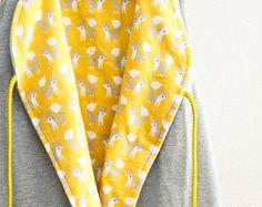 Wendbarer handgemachter Babyschlafsack // sunny fox hellgrau - Artikel bearbeiten - Etsy