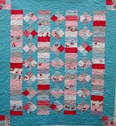 A Walk in the Woods Quilt by QOB, via Flickr