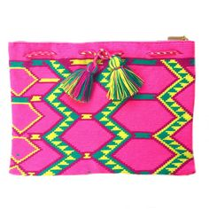 Asuzena Clutch - Wayuu Bags | Chila Bags