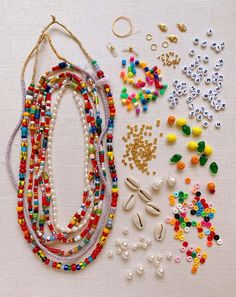 DIY Beaded Summer Necklaces – Honestly WTF