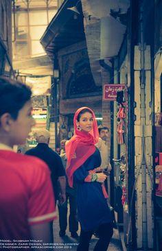 street fashion in iran