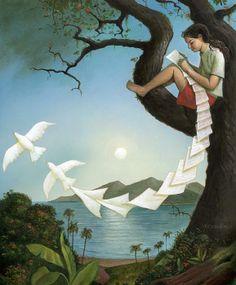 The Letter. Robert CRAWFORD - Artist