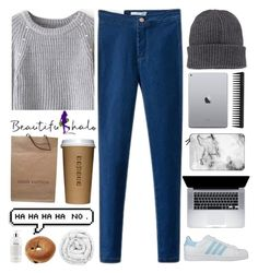 """#402 Egress ( Beautifulhalo 7)"" by mia5056 ❤ liked on Polyvore featuring Moncler, Louis Vuitton, GHD, Brinkhaus, Casetify, philosophy, adidas and bhalo"
