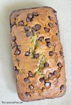 The perfect chocolate chip banana bread recipe - moist, delicious and easy to…