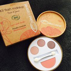 Découverte et testing du Kit flash make-up de Couleur Caramel, la jolie marque de cosmétiques bio et made in Drôme