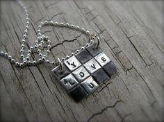 cxword puzzle necklace.