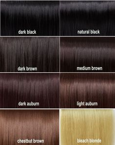 Dark Auburn Hair Color Chart - Best Natural Hair Color Products Check more at http://www.fitnursetaylor.com/dark-auburn-hair-color-chart/