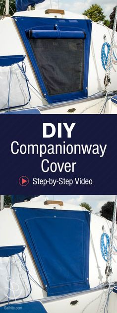 Maintain airflow and keep bugs out of your cabin with this DIY companionway…